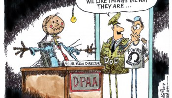 DoD's Defense Prisoner of War/Missing in Action Accounting Agency (DPAA) still has not named a director after a year