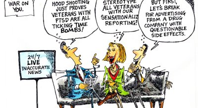 What mainstream media isn't getting right about veterans and PTSD