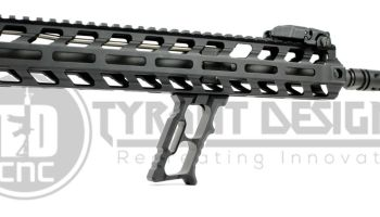 Tyrant Designs' HALO Mini Verticle Grip: Get your gun control in style