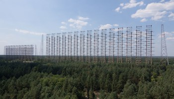 The Soviet equivalent to THAAD: a mammoth radar array that perplexed radio operators for years