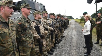 Scandals continue to plague German military as emergency leadership meeting is called