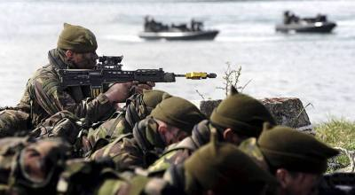 Britain's Royal Marine Commandos