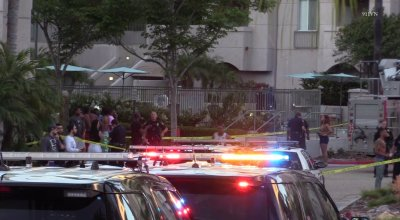 8 people injured in mass shooting at University City pool; gunman killed by police