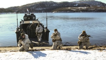 Norway announces extension of U.S. Marine deployments, Russia claims it 'escalates tensions,'