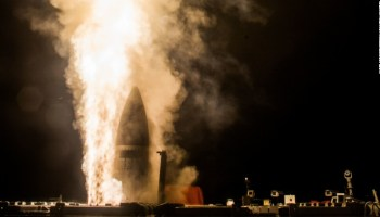U.S. and Japan joint missile intercept test over the Pacific fails to find its target