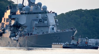 Cargo ship's captain claims USS Fitzgerald failed to respond to warnings or change course leading up to collision