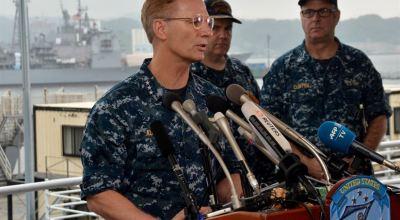 U.S. 7th Fleet Commander praises heroism of Fitzgerald's crew after collision with merchant vessel