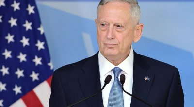 James Mattis discusses John Glenn while receiving service award: 'We all need role models in this world'