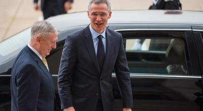 NATO Secretary General addresses funding concerns prior to Defense Ministerial in Brussels