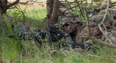 U.S Army Europe commander: NATO operations in Europe mark a shift 'from assurance to deterrence'