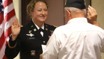LTC Megan Brogden to command a Special Forces Support Battalion: 'Here comes the neighborhood'