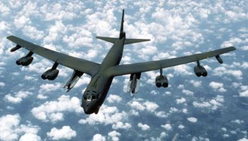Russian fighters intercept U.S. bomber over Baltic Sea
