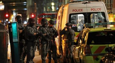 Terrorist attacks in London: Van runs over pedestrians on London bridge, stabbing in Borough Market
