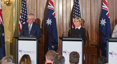 American and Australian officials meet to discuss threats in the Pacific, War on Terror