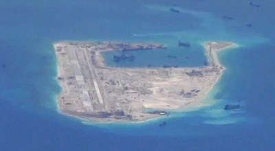 New Chinese missile & radar installations are being built on artificial islands in the South China Sea