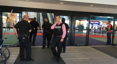 US airport stabbing investigated as terror; Canadian charged