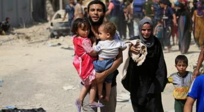 Civilians killed while fleeing Islamic State in Mosul