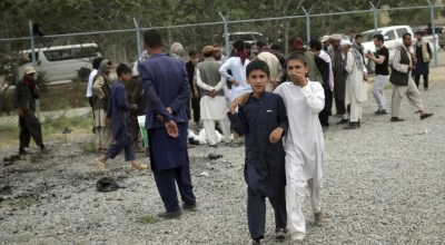 At least 15 Afghans killed as multiple blasts target funeral for protester in Kabul
