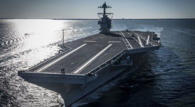 US Navy accepts newest carrier USS Gerald R. Ford CVN 78!