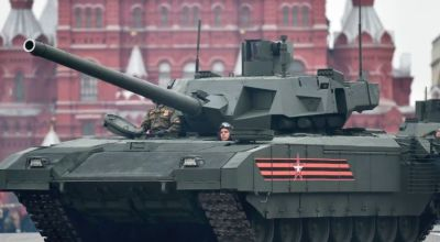 Russia's new tank's main gun slated to have nearly 3x the range of America's M1 Abrams