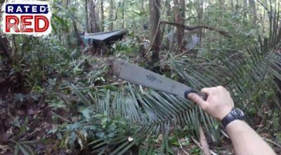 Watch: Man Hacks | Jungle Survival