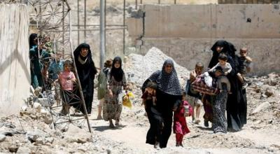 As Iraqi forces close in on taking Mosul, the struggle for Mosul's civilians is far from over