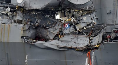 U.S. Navy identifies the Sailors killed on the USS Fitzgerald