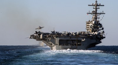 US carrier strike group to join UK's new HMS Queen Elizabeth in North Atlantic exercise Saxon Warrior '17