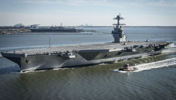 America's newest aircraft carrier, the USS Gerald R. Ford, set to enter active duty on Saturday