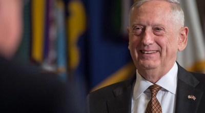 James Mattis gets a call from a high school student journalist: Gives him a 45 minute interview