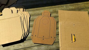 Turn Your Trash Into Treasure with These DIY Cardboard Range Targets