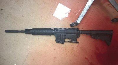 Photo of gun used in Bronx Lebanon Hospital murder: Gun free zone