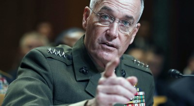Joint Chiefs: 'No modifications' to transgender policy from Trump tweet