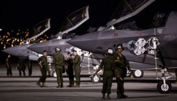 Marine Corps & Air Force F-35 Aircraft Participate Together For The First Time in Red Flag 17-3