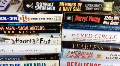 A comprehensive list of over 80 books about and by the Navy SEALs