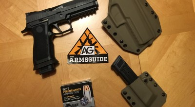 Sig 320 X-Five: Competition Ready Right Out of the Box
