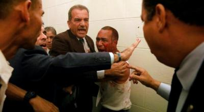 Government supporters attack Venezuelan congress, injure opposition lawmakers