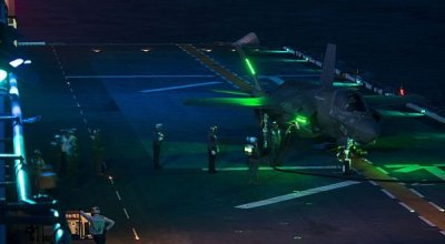 Picture of the day: Sailors refueling F-35B Lightning II Joint Strike Fighter