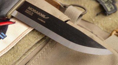Morakniv Tactical Blade | Carbon steel excellence
