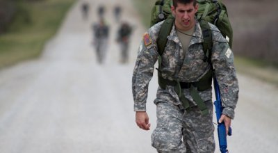 12-Mile Ruck March Nothing To Worry About in Selection?