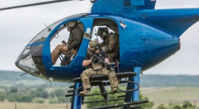 Aerial Target Interdiction and Hog Hunting from Helicopters on Episode 6 of The SPEC OPS Channel's Training Cell