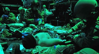 The Air Force's Special Operations Surgical Teams: Saving lives in the line of fire