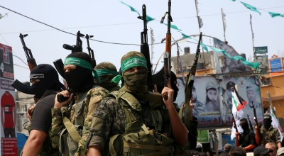 Hamas is known for its suicide attacks. Now it's been hit by one for the first time.