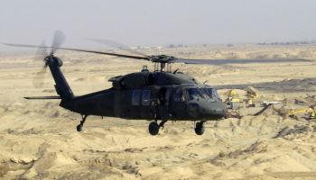 U.S. Blackhawk helicopter goes down in hard landing in Afghanistan