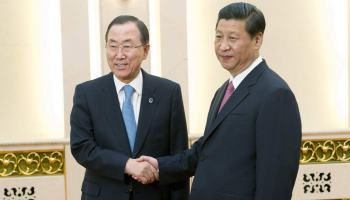 China Pushes Four-Point Peace Plan for Israel – Palestine to UN