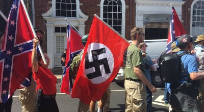 OpEd: Why are vets coming out against Nazis with more fervor than ANTIFA? Let me explain with marital aids.