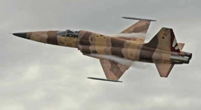 US Navy Pilot Ejects from F-5N Tiger II Fighter South of Naval Air Station Key West