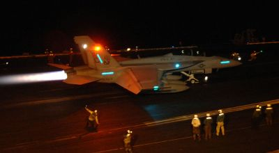 Iranian Drone 'Shadows' US Aircraft Carrier – Putting F-18 Hornet Pilots 'Lives at Risk'