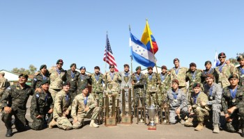 Fuerzas Comando 2017, friendly competition and good will