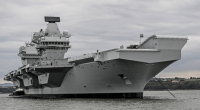 Watch: HMS Queen Elizabeth Aircraft Carrier Enters Portsmouth Harbour